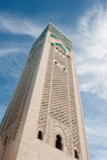 Minaret Sky High Royalty Free Stock Photos