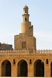 Minaret spiralé Ibn Tulun Images stock