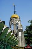 Minaret sułtanu Sulaiman meczet w Klang Obraz Stock