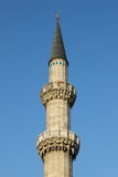 Minaret of Suleymaniye Mosque. In Istanbul, Turkey Royalty Free Stock Image