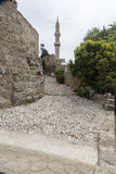 Minaret of the Suleymaniye Mosque or the Mosque of Suleiman Stock Images
