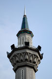 Minaret of Sultan Abdul Samad Mosque (KLIA Mosque) Royalty Free Stock Images