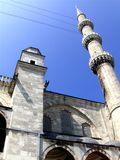 Minaret of Sultan Ahmed Mosque Stock Image