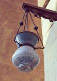 Minaret of the Sultan al-Nasir Muhammad ibn Qalawun MosqueLamp in mosque,vintage Stock Photo