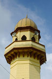 Minaret of Sultan Ala'eddin Royal Mosque in Banting Royalty Free Stock Photography