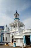 Minaret of The Sultan Ibrahim Jamek Mosque Royalty Free Stock Photo
