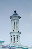 Minaret of Sultan Ismail Mosque in Muar Stock Image