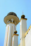Minaret of Sultan Mahmud Mosque In Kuala Lipis, Pahang Royalty Free Stock Photography