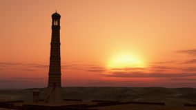 Minaret Sunrise Stock Image