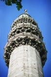 Minaret sur la mosquée Image libre de droits