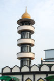 Minaret of Taiping India Muslim Mosque in Taiping, Perak Royalty Free Stock Images