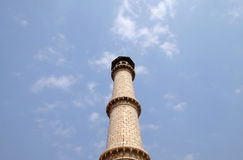 Minaret of the Taj Mahal, Agra Royalty Free Stock Images