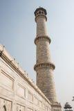Minaret in Taj Mahal Stock Images