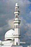 Minaret of Tengku Tengah Zaharah Mosque in Terengganu Stock Photos