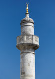 A minaret of Terrace Mosque in Topkapi Palace, Istanbul Royalty Free Stock Image