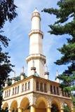 Minaret Tjeckien, Europa Royaltyfria Bilder