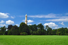 Minaret tower Royalty Free Stock Photo