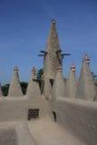 Minaret of a traditional mosk Stock Images