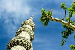 Minaret. Royalty Free Stock Image
