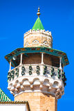 Minaret in Tunis medina Royalty Free Stock Photo