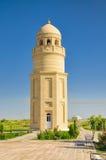Minaret in Turkmenistan. Scenic minaret in Merv, Turkmenistan, central Asia royalty free stock image