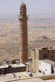 Minaret of  the Ulu Cami Stock Photos