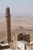 Minaret of  the Ulu Cami Royalty Free Stock Photo