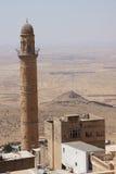 Minaret of  the Ulu Cami Royalty Free Stock Image
