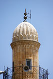 Minaret of Ulu Cami mosque Royalty Free Stock Images