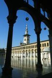 Minaret in the Umayyad Mosque Royalty Free Stock Photos