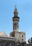 The Minaret of Umayyad Mosque in Damascus, Syria. Stock Photography