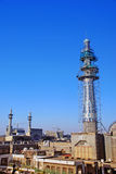 Minaret Under Construction Royalty Free Stock Photos