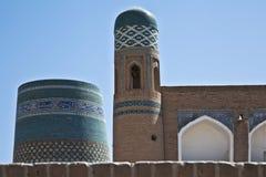 Minaret in Uzbekistan Stock Photos