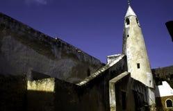 Minaret van de moskee van Shela Stock Foto's