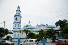 Minaret van Panglima Kinta Mosque in Ipoh Perak, Maleisië stock afbeeldingen
