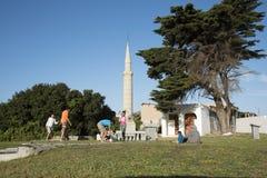 Minaret voor Sheikh Yusuf in Makassar Zuid-Afrika Royalty-vrije Stock Foto's