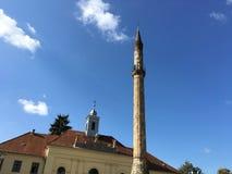 Minaret w Eger Obraz Stock