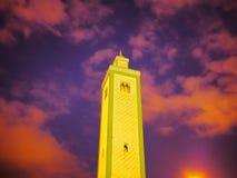 Minaret w Fes, Maroko Zdjęcia Royalty Free