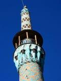Minaret in Yazd Stock Afbeelding