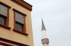 Minarete imagem de stock