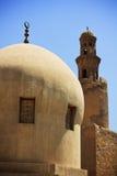 Minarete da mesquita antiga Fotos de Stock Royalty Free