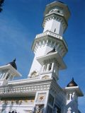 Minarete da mesquita de Kapitan Kling Imagens de Stock