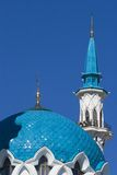 Minarete da mesquita de Qolsharif Imagens de Stock Royalty Free