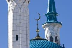 Minarete da mesquita de Qolsharif Imagens de Stock