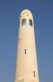 Minarete da mesquita do estado de Qatar Foto de Stock