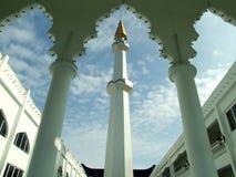 Minarete da mesquita, Malásia imagens de stock royalty free