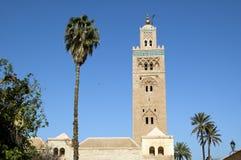 Minarete de C4marraquexe Koutoubia Fotos de Stock Royalty Free