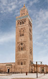 Minarete de Koutoubia em C4marraquexe Fotos de Stock Royalty Free