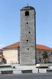Minarete de pedra fotografia de stock royalty free