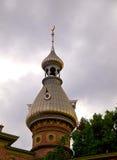 Minarete an der Universität von Tampa in HDR Stockbilder